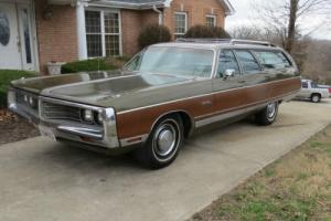 1972 Chrysler Town & Country Town And Country
