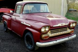 1959 Chevrolet Other Pickups OTHER APACHE C10 3100 STEPSIDE V8 TRUCK CHEVY