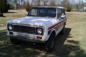 1976 International Harvester Scout  Scout II / Spirit Edition Photo
