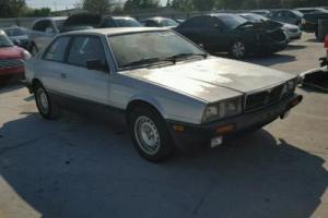1985 Maserati Bi-Turbo