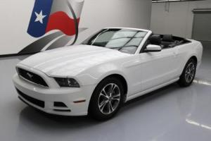 2014 Ford Mustang V6 PREM CONVERTIBLE AUTO LEATHER