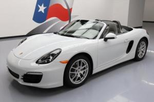 2015 Porsche Boxster ROADSTER PDK PREMIUM PLUS NAV Photo