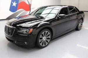 2013 Chrysler 300 Series 300S HTD LEATHER NAV REAR CAM 20'S