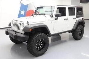 2014 Jeep Wrangler UNLTD RUBICON HARD TOP 4X4 LIFT