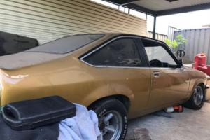 Barnfind Torana Hatchback V8 308 Manual unfinished project, possible drag car