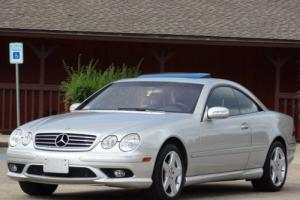 2004 Mercedes-Benz CL-Class CL600 COUPE