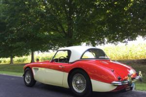 1960 Austin Healey 3000 2+2 BT7  Mark I