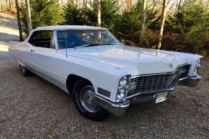 1967 Cadillac DeVille Convertible Photo