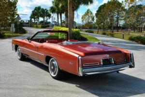 1976 Cadillac Eldorado Convertible 23,744 Actual Miles! Super Clean!