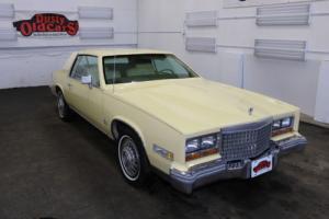 1980 Cadillac Eldorado Runs Drives Body Int Vgood 6L 3spd auto
