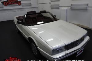 1989 Cadillac Allante Runs Drives Body Inter VGood 4.5LV8 4 spd auto Photo