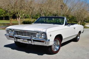 1967 Chevrolet Chevelle Convertible 327/275hp Air Conditioning PS PB