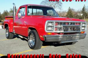 1979 Dodge Other Pickups D150 Little Red Exoress Photo