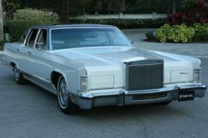 1978 Lincoln Town Car SURVIVOR -  RARE MOONROOF - 53K MI