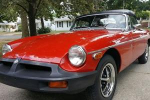 1977 MG MGB Photo