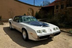 1980 Pontiac Trans Am INDY 500 PACE CAR