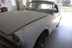 1962 Sunbeam Alpine Series II