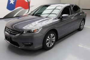 2014 Honda Accord SPORT SEDAN AUTO LEATHER REAR CAM