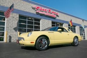 2002 Ford Thunderbird Two Tops