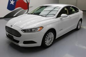 2014 Ford Fusion SE HYBRID CRUISE CONTROL ALLOYS