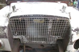 "Land Rover Series 1 80"" - 1950 - Restoration project"