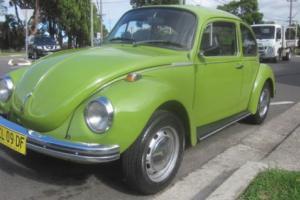 VW BEETLE SUPER BUG L 1973 WORKED ENGINE NOT KOMBI
