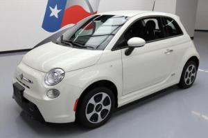 2015 Fiat 500 E ELECTRIC HEATED SEATS REAR CAM ALLOYS
