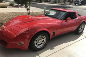 1982 Chevrolet Corvette Edelbrock 1406 carburetor
