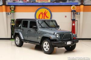 2015 Jeep Wrangler Sahara 4x4
