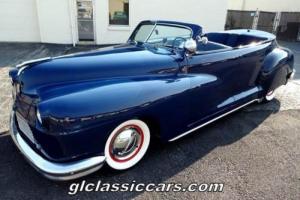 1947 Chrysler Other Custom Convertible Sedan Photo