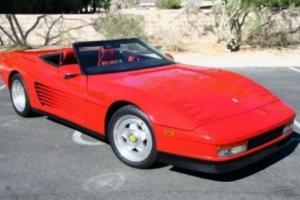 1989 Ferrari Testarossa C-4 Corvette engine