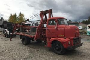 1952 International Harvester L160 COE Boom Truck NO RESERVE!!!