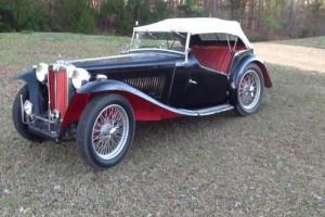1948 MG T-Series Photo