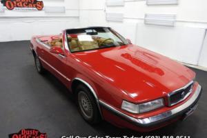 1989 Chrysler TC By Maserati 2.2L Turbo 3 spd auto Good Condition