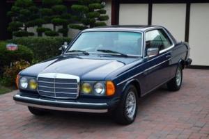 1985 Mercedes-Benz 300-Series W123 300cd 300 CD 300CDT cdt turbo diesel coupe