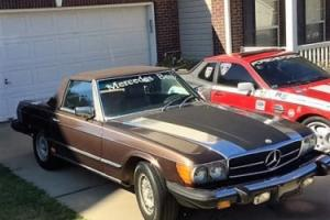 1980 Mercedes-Benz SL-Class 450 Photo