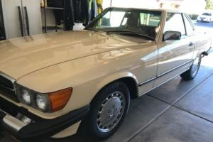 1987 Mercedes-Benz 500-Series COUPE/ROADSTER W/ REMOVABLE HARD TOP