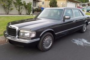 1987 Mercedes-Benz 400-Series 420SEL W126 Photo