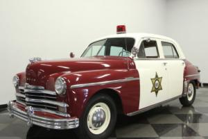 1949 Plymouth Special Deluxe Police Car Photo