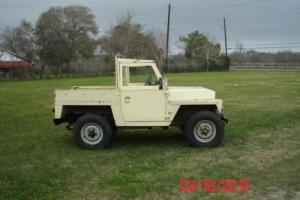 1979 Land Rover Series III 1/4 Ton Military Light Weight
