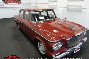 1962 Studebaker Lark Runs Drives Body Inter 170I6 3 spd auto