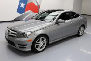2012 Mercedes-Benz C-Class C350 COUPE P1 PANO SUNROOF NAV