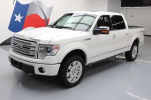 2013 Ford F-150 PLATINUM CREW 5.0 4X4 SUNROOF NAV