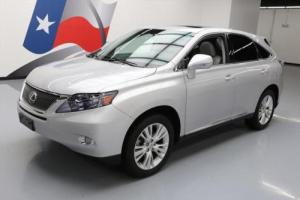2012 Lexus RX 450H HYBRID VENT LEATHER SUNROOF NAV