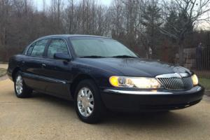 2002 Lincoln Continental w/Luxury Appearance