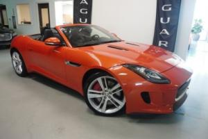 2014 Jaguar F-Type S Convertible V8