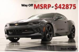 2017 Chevrolet Camaro MSRP$42875 2LT Sunroof Leather Rally Sport GPS Nightfall Gray