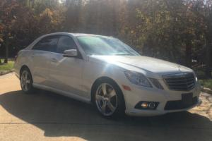 2010 Mercedes-Benz E-Class E350 Sport Photo