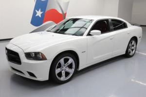 2014 Dodge Charger R/T HEMI RED LEATHER NAV 20'S