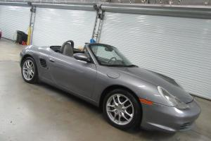 2004 Porsche Boxster 2dr Roadster 5-Speed Manual